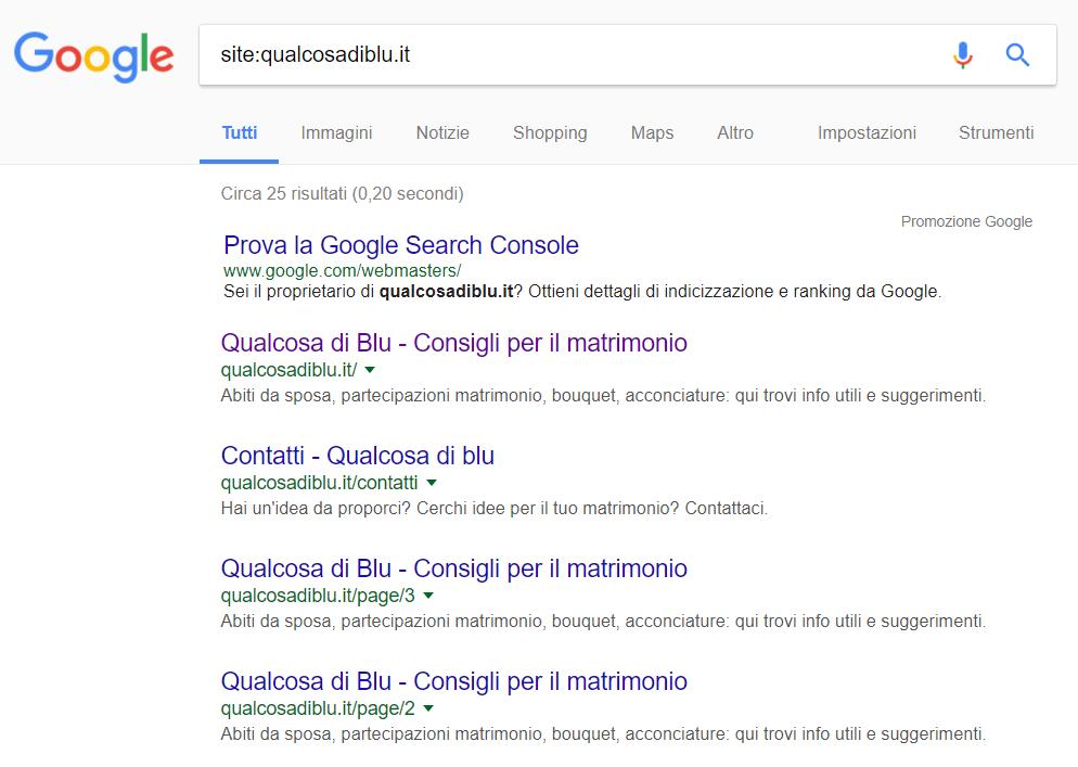 comando site google